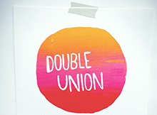 Double union screenprint cover