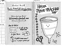 Hipster period app thumbnail